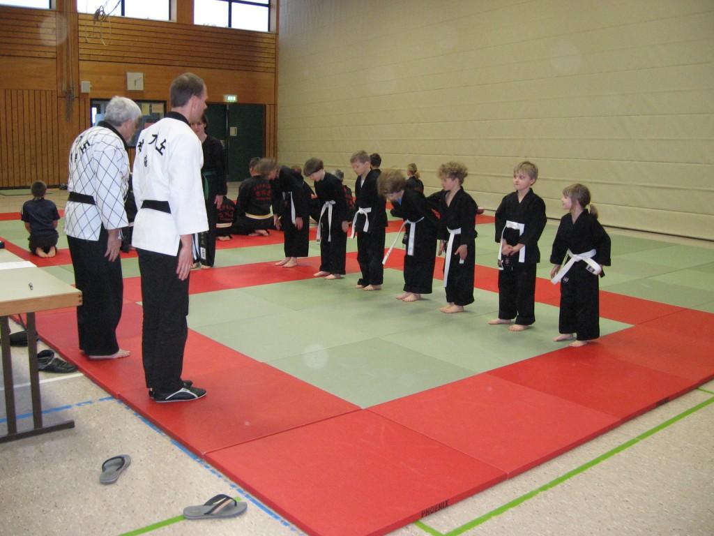 Hapkido-Kinderprüfung 2012